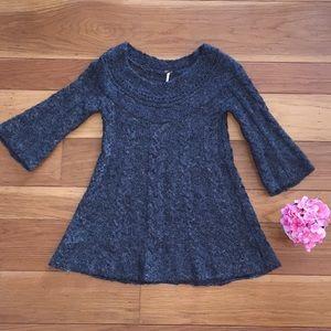 Free People ⏺ Mini Sweater ⏹ Flare Dress Small
